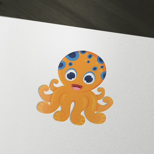 Create a cute octopus mascot for an Internet of Things startup!