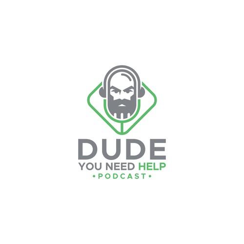 Logo for man Podcast