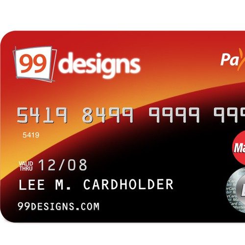 Prepaid 99designs MasterCard® (powered by Payoneer)