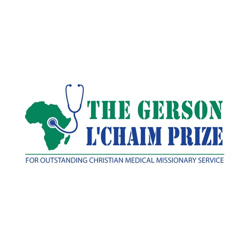 Logo for a new medical prize