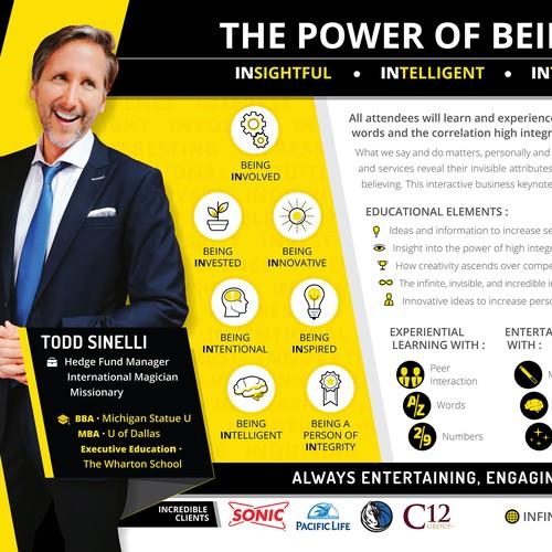 Infinitely IN - Infographic / Flyer