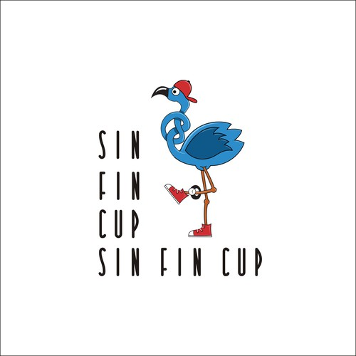 logo concept for cup