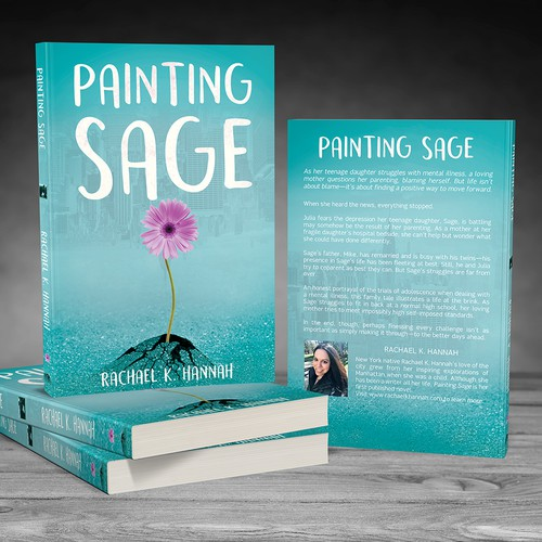 """Painting Sage"" Book Cover"