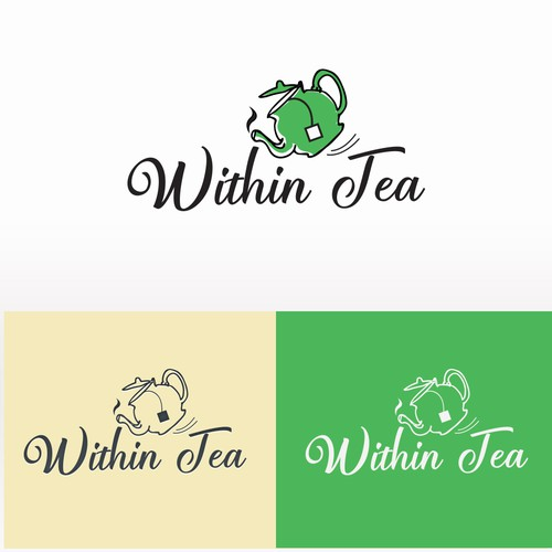 "Logo concept proposal for ""Within Tea"""