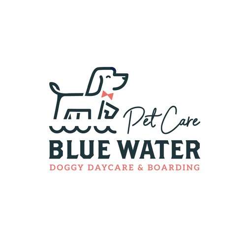 Simple dog logo