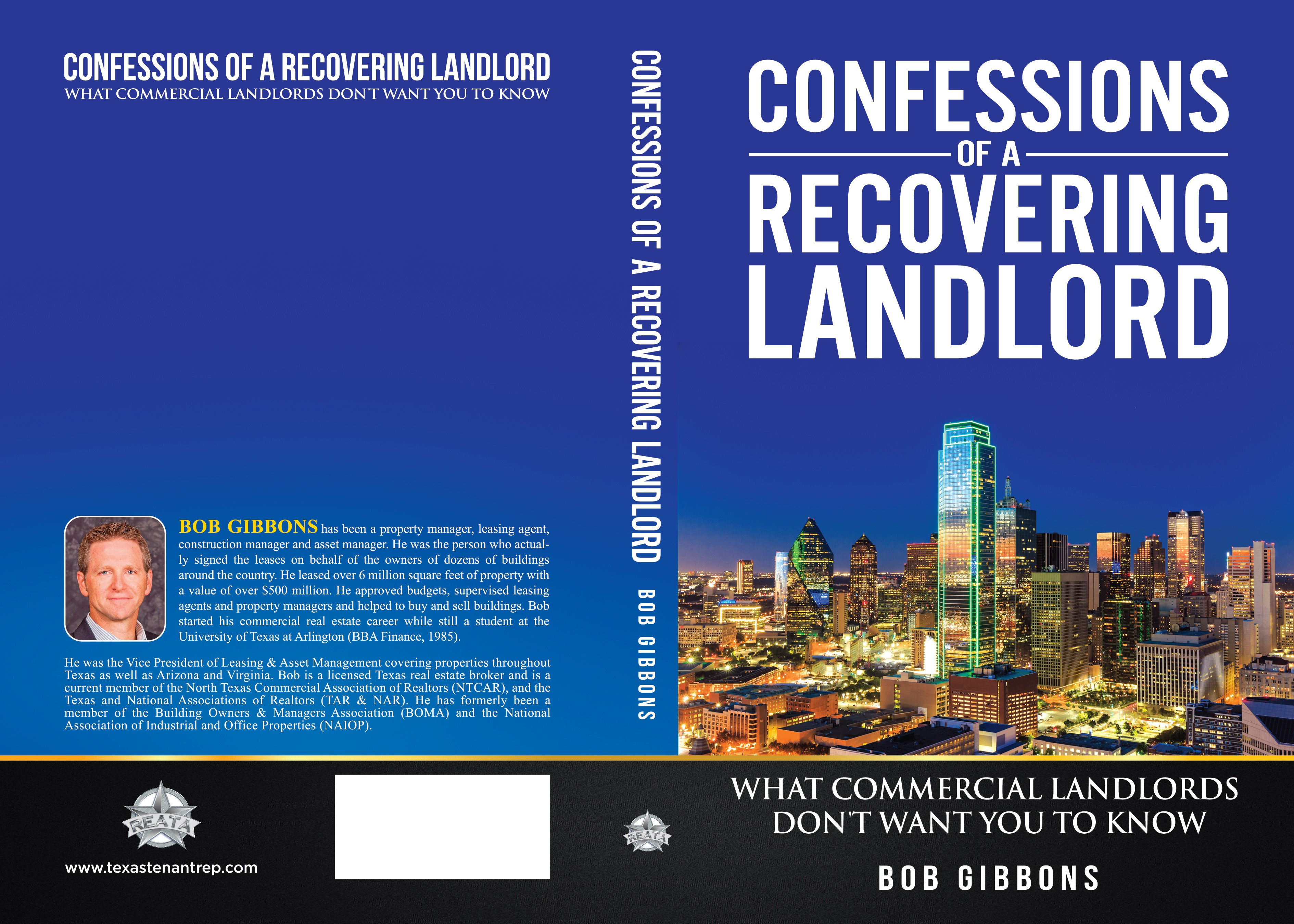 Create a business book cover - Confessions of a Recovering Landlord