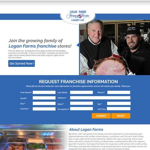 Logan Farm's - Landing Page
