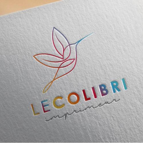 Créer un logo moderne et dynamique pour une imprimerie