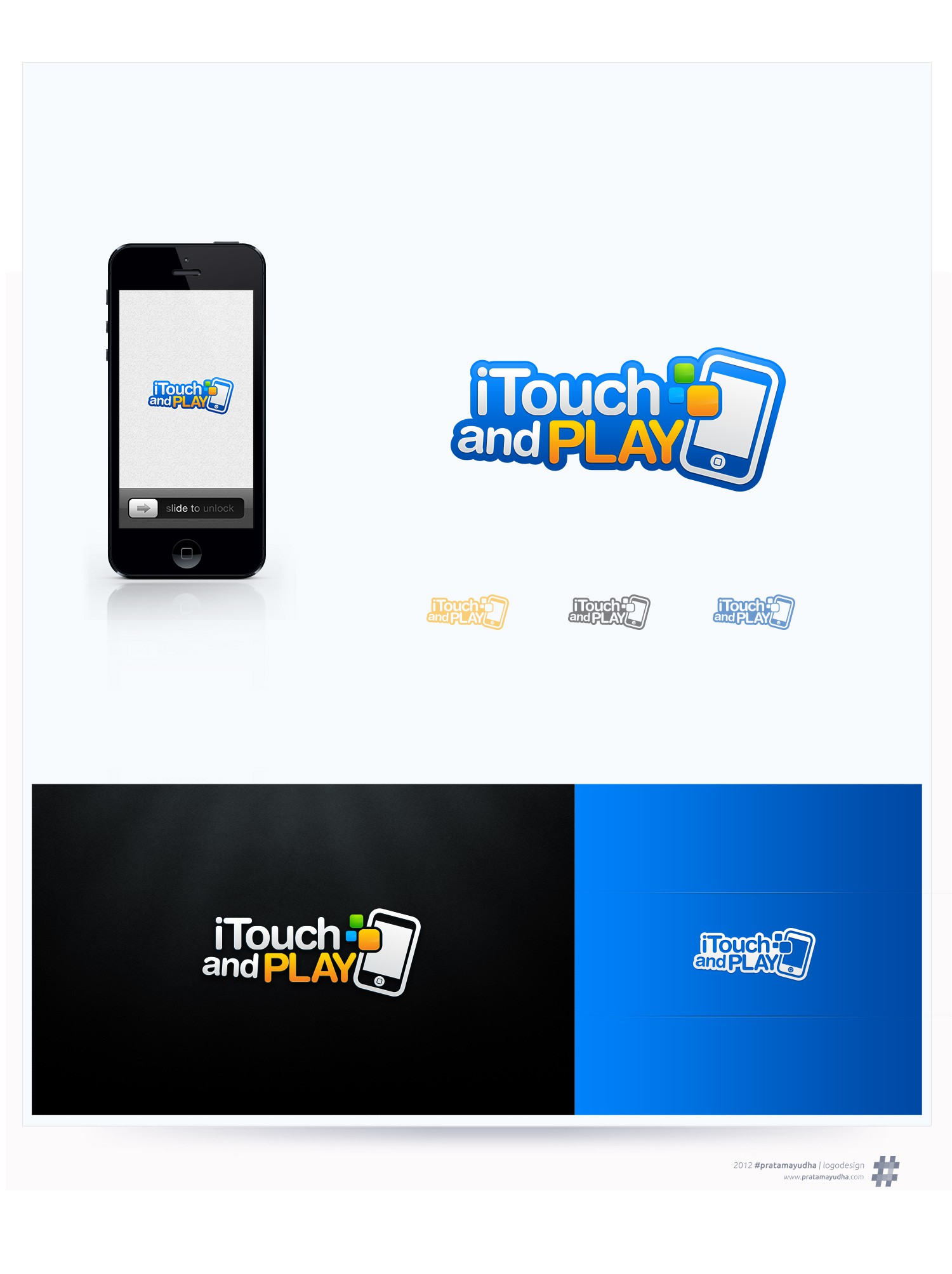 *Prize guaranteed* New logo for iPhone/ iPad Gaming website 'iTouch and Play'