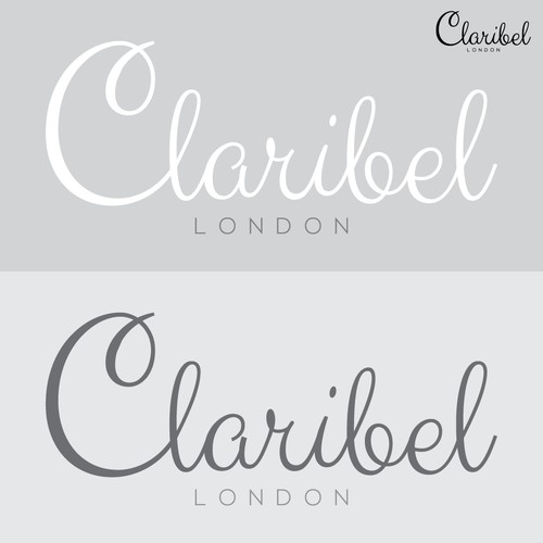 Logo for a new shabby Chic London Brand