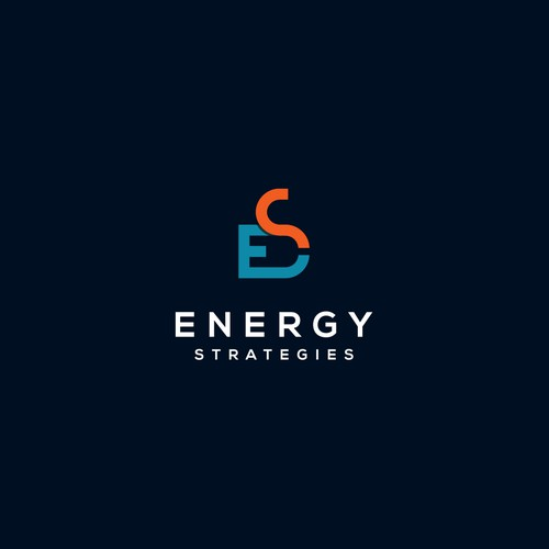Bold logo for energy industry