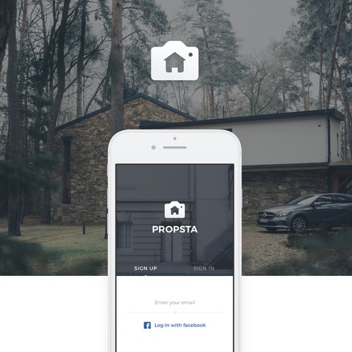 An app to share photos of your home and sell it.