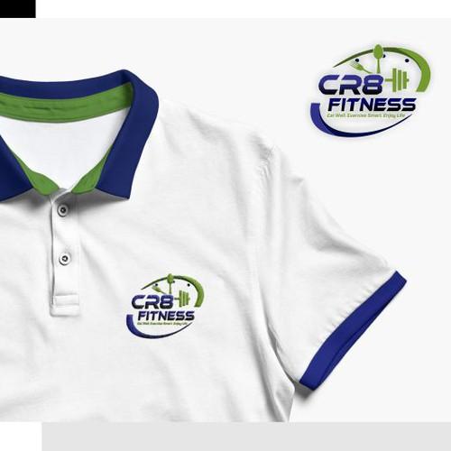 Sport logo for CR8 Fitness