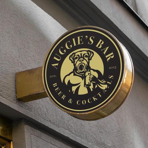 Auggie's bar logo