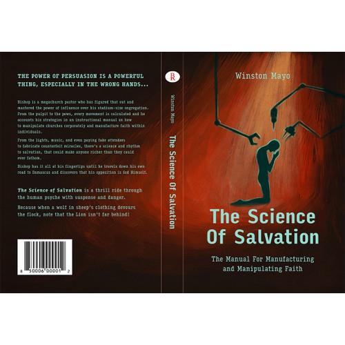 Cover for a satirical novel
