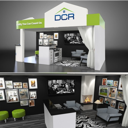 Booth concept for a Home and Garden Show