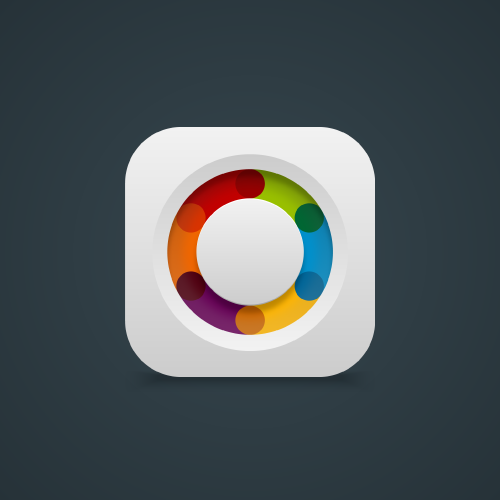 Design app icon for a news app