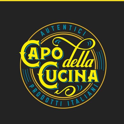 """Logo """"Capo della Cucina"""""""