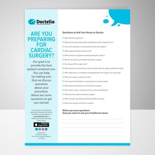 Design Patient-Centered Leaflet Template for Start-up