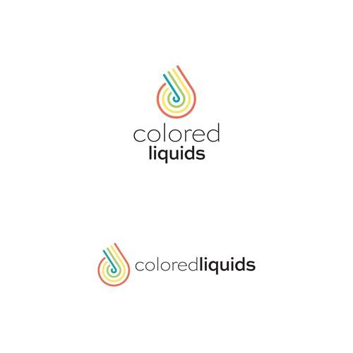 Bold Logo Concept for ColoredLiquids