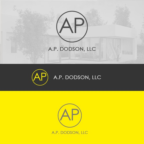 Logo Design Simple AP DODSON,LLC