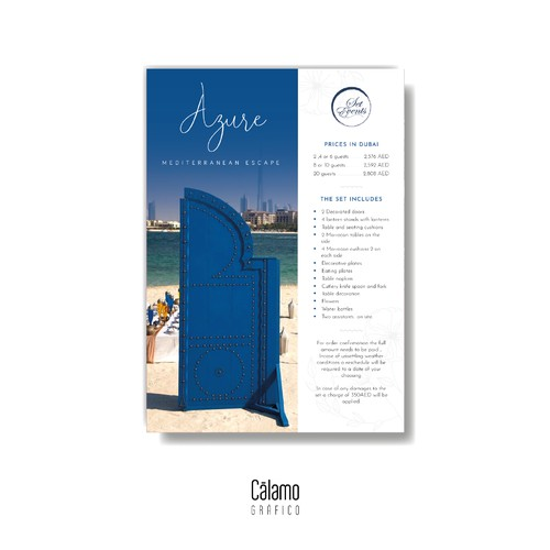 Azure Flyer