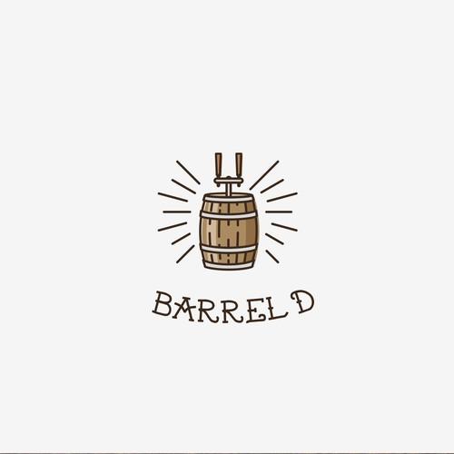Logo for Barrel'd - Craft Cocktails on Tap