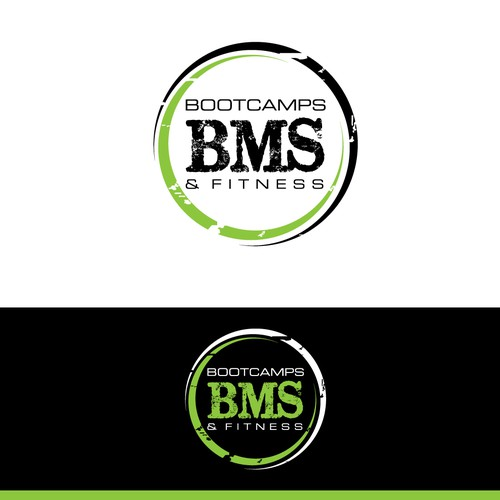 Create a stunning logo for our fitness company BMS Bootcamps and Fitness!