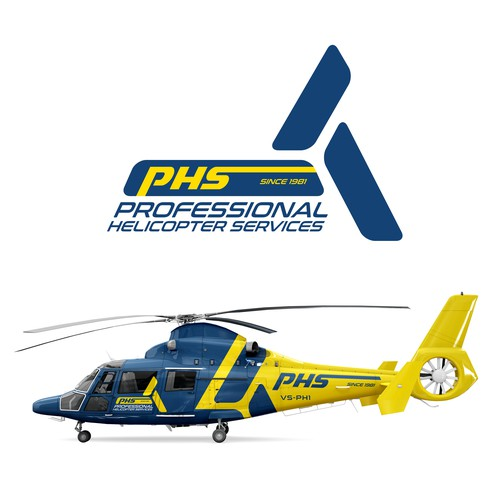 Logo redesign for Helicopter company