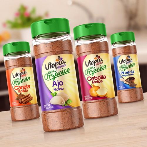 Utopia Organics Spices