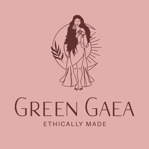 Line-art logo design