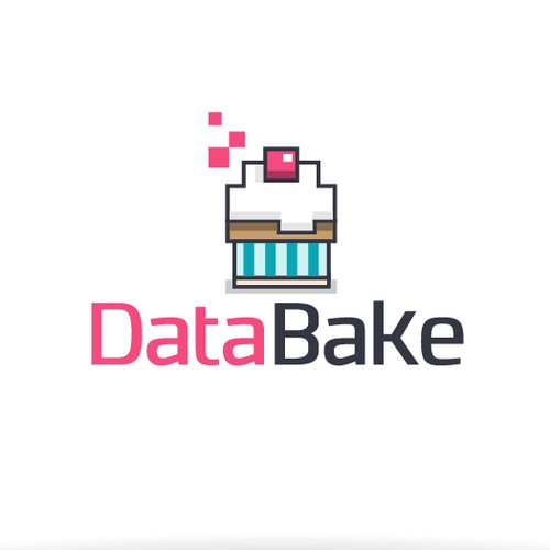 Cupcake concept for Data company