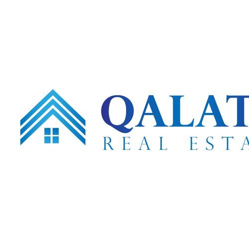 Logo design for an online real estate market