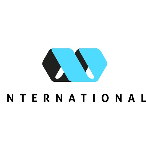 Create the next logo for W International