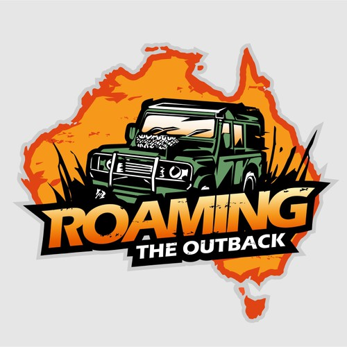 Roaming The Outback travel blog and videos logo. Adventure, travel, exploration