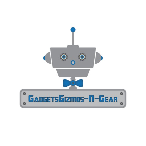Use your own creativity to make a modern robotic logo for my electronics eBay store!