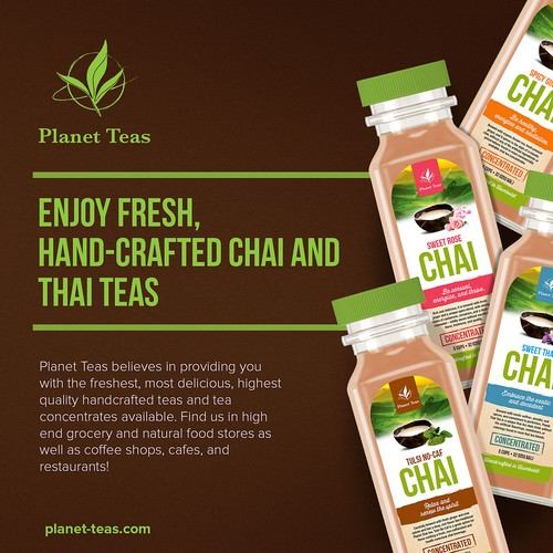 Chai Tea Label Design