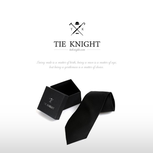 Logo for Tie Knight