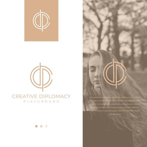 "Logo for the Next Soho House-like Club - ""Creative Diplomacy Playground"""