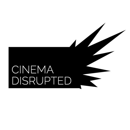 Design a logo for Cinema Disrupted, an event on how technology is changing everything about movies