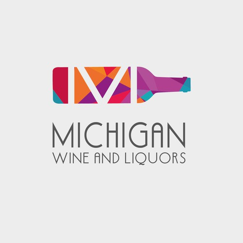 Logo - Michigan Wine and Liquors 02