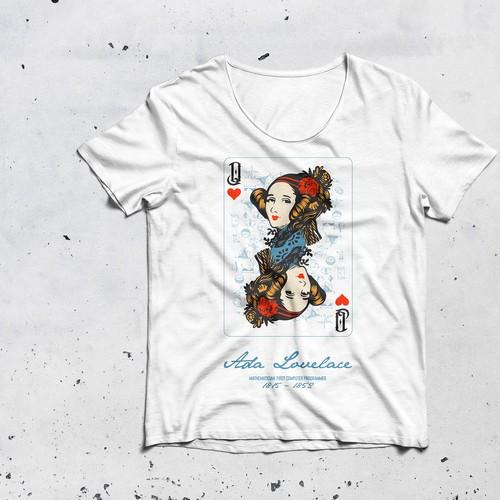 Ada Lovelace - Pop Art