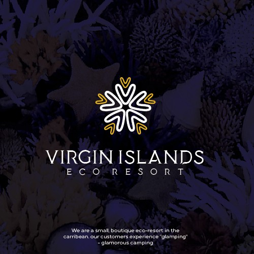 Elegant Logo For Virgin Islands