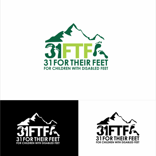 """Help """"31 For Their Feet"""" (31FTF) with a new logo!"""