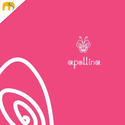 Unique logo design for Apollina