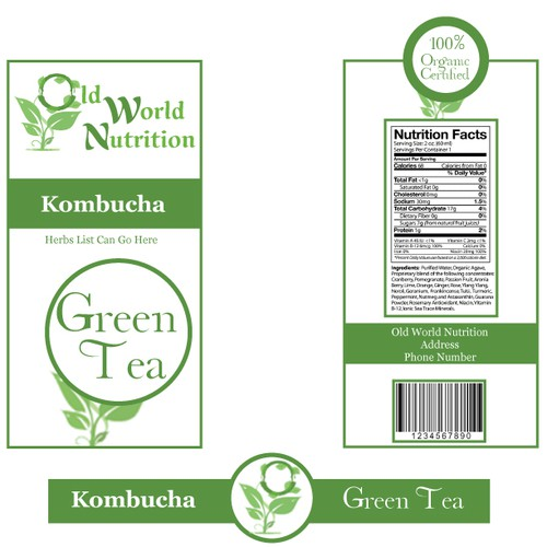 Create the next product label for Old World Nutrition