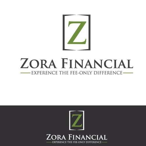 Zora financial Logo Design