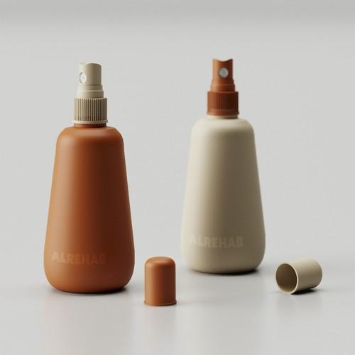 bottle design for Room Freshener
