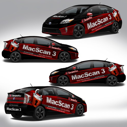 Attractive Toyota Prius Wrap Design