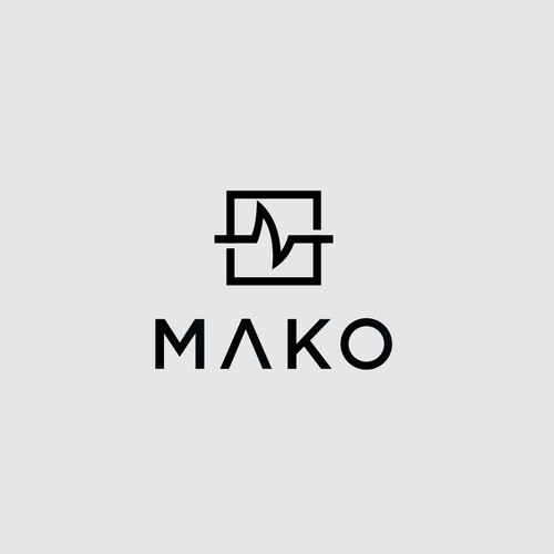 "logo of ""MAKO"" the company of selling high quality medical scrubs"